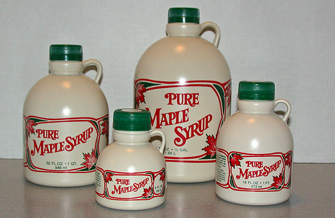 Locally made maple syrup, Jefferson, NH